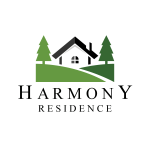 home-house-property-residence-tree-pine-logo-template-dribbble